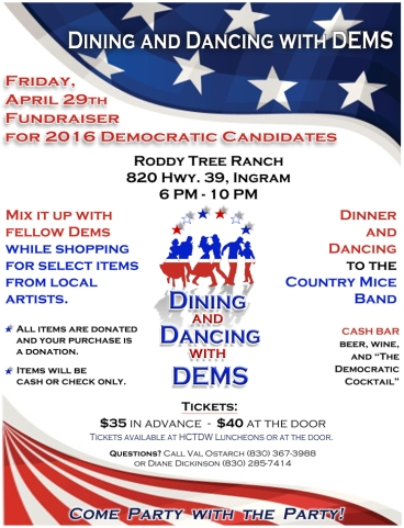 e-Dine and Dance with DEM - flyer
